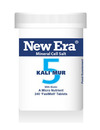 New Era No 5 Kali Mur Mineral Cell Salt 240 Tablets